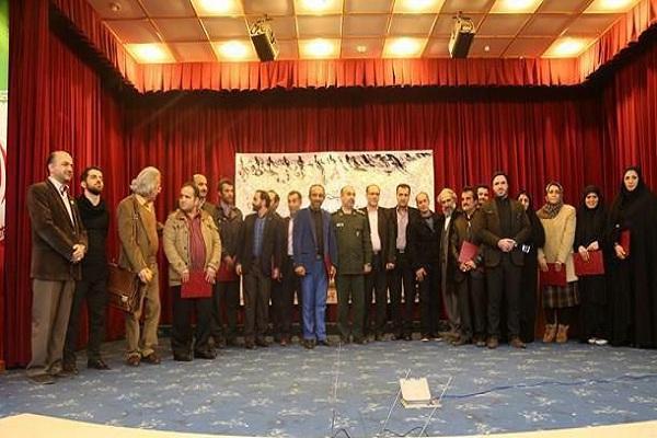 تجلیل از شاعران آئینی برتر بسیجی مازندران و مادر شهید کلامی