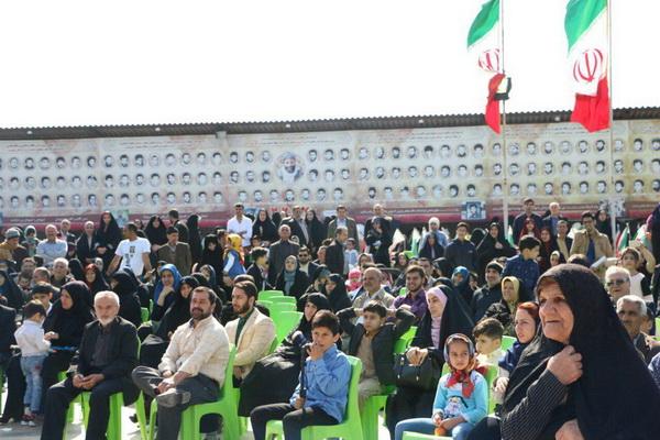 مراسم سال تحویل سال نو در امامزاده ابراهیم ابوجواب(ع) بابلسر +عکس