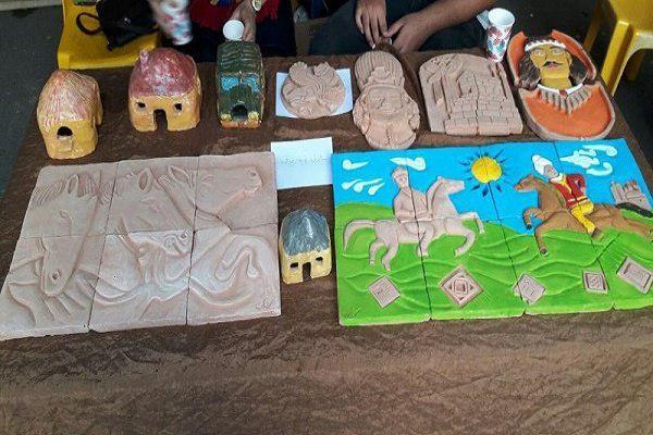 مراسم اختتامیه نمایشگاه صنایع دستی هنرمندان بسیجی در آمل